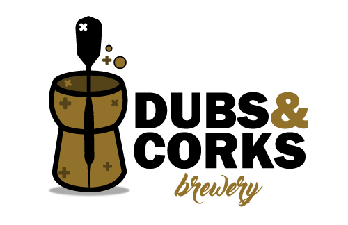 Dubs and Corks Brewery Logo