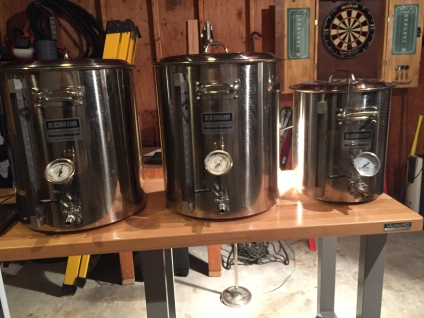 Blichman Boilmakers and Mash Tun