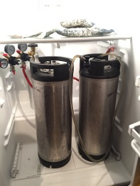 Dual Regulated Kegging System